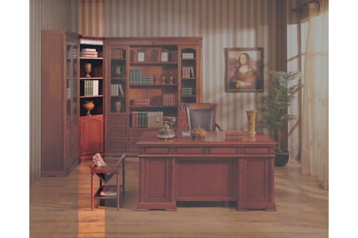 Шкаф книжный угловой Вишня SH 354