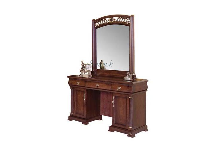 Туалетный столик с зеркалом + банкетка экокожа TR 319